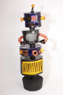 Konstverk i keramik av Emil Österholm