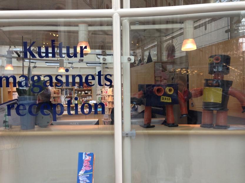 Emils robotar på Kulturmagasinet i Sundsvall