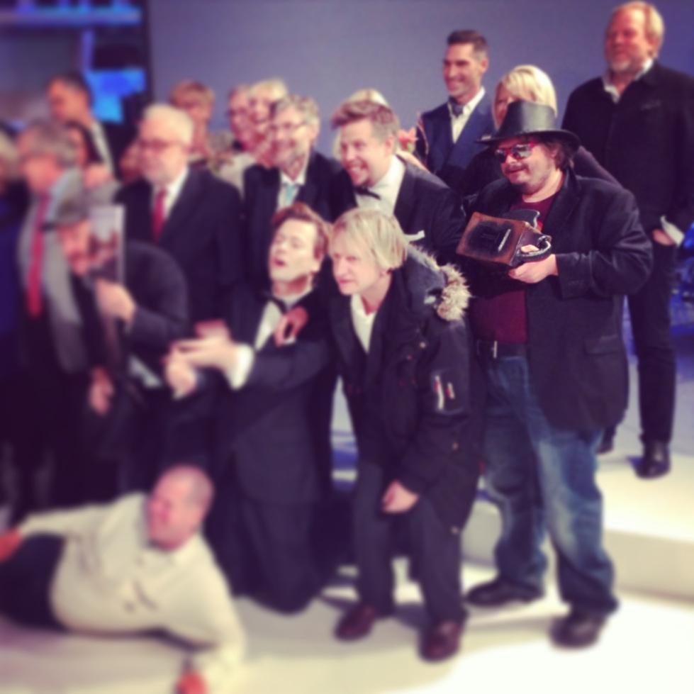 Kanal 5 firade 10 år med Filip och Fredrik, Emil gjorde priserna till galan