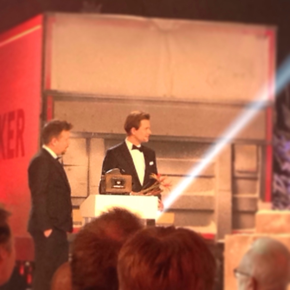 Emil gjorde priset till Filip och Fredriks Roast and Toast gala