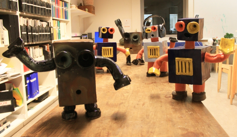 Fler robotar