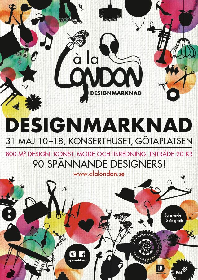 á la London Designmarknad