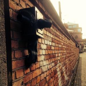 vägg i Sundsvall
