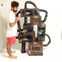 Emil and his cermaic machine