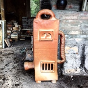 Big cermaic machine and kiln