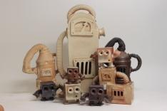 Ceramic machine and robots