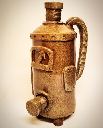 Brown Ceramic machine