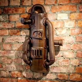 Maskin på vägg i kermamik
