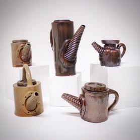 Kannor i keramik