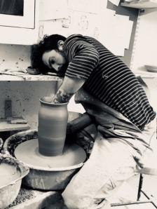 Emil Österholm working